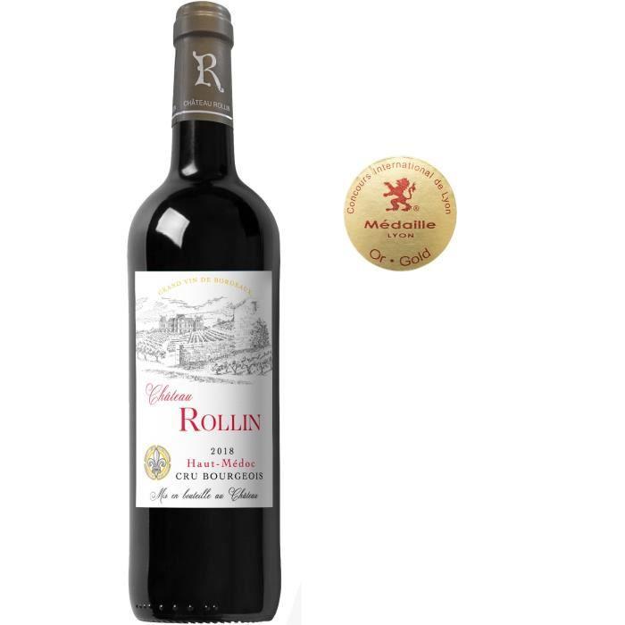 Château Rollin 2018 Haut-Médoc Cru Bourgeois - Vin rouge de Bordeaux