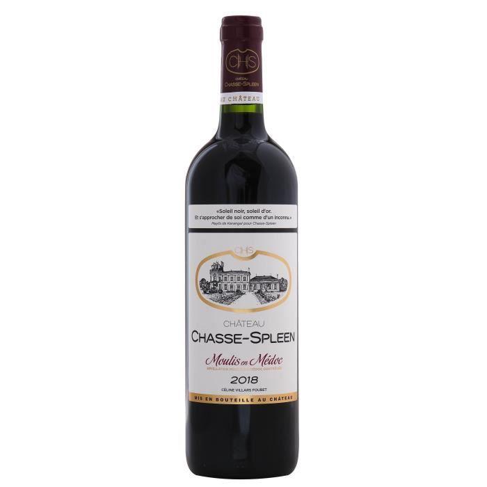 Château Chasse Spleen 2018 Moulis-en-Médoc - Vin rouge de Bordeaux
