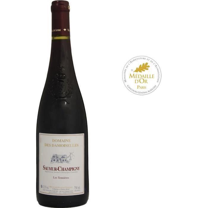 Domaine des Damoiselles Cuvée Les Tennières 2018 Saumur-Champigny - Vin rouge de la Vallée de la Loire