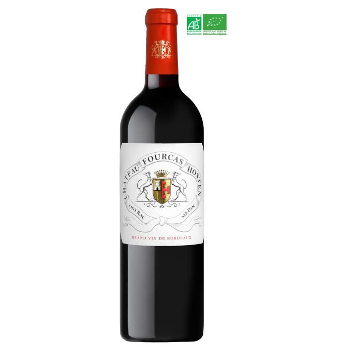 Château Fourcas Hosten 2018 Listrac-Médoc - Vin rouge de Bordeaux - Bio