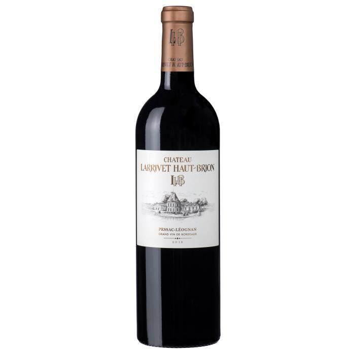 Château Larrivet Haut-Brion 2018 Pessac Léognan - Vin rouge de Bordeaux