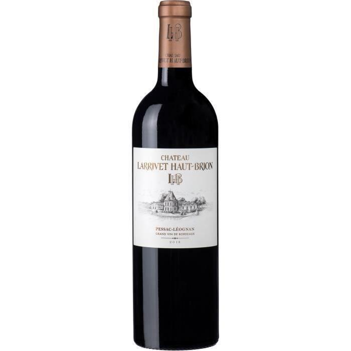 Château Larrivet-Haut-Brion 2018 Péssac-Léognan - Vin rouge de Bordeaux