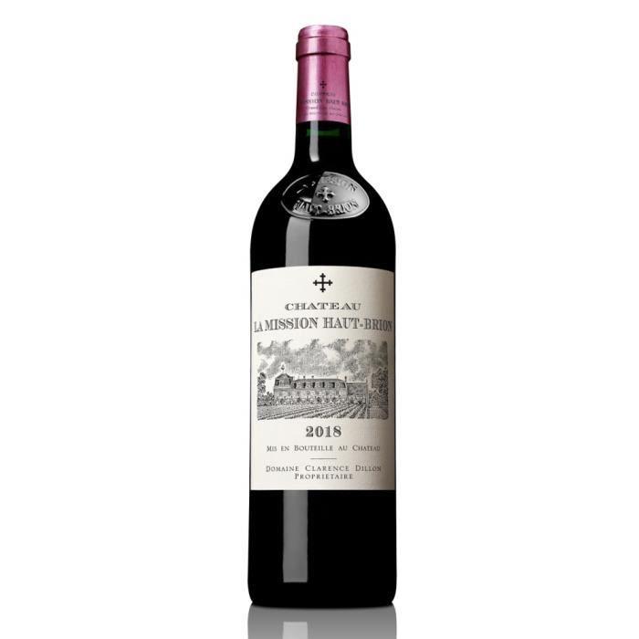 Château La Mission Haut-Brion 2018 Pessac Léognan - Vin rouge de Bordeaux