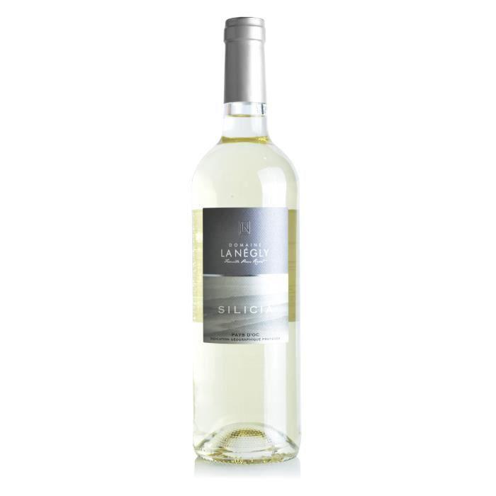 Domaine la Négly-Silicia 2018 IGP Pays d'Oc - Vin blanc du Languedoc Roussillon