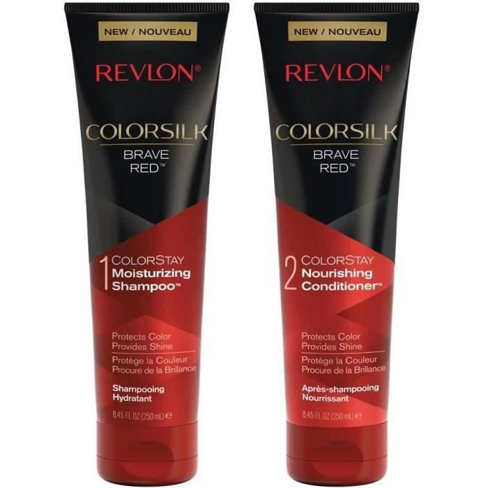REVLON Duo Cheveux Roux : Shampoing + Après-shampoing