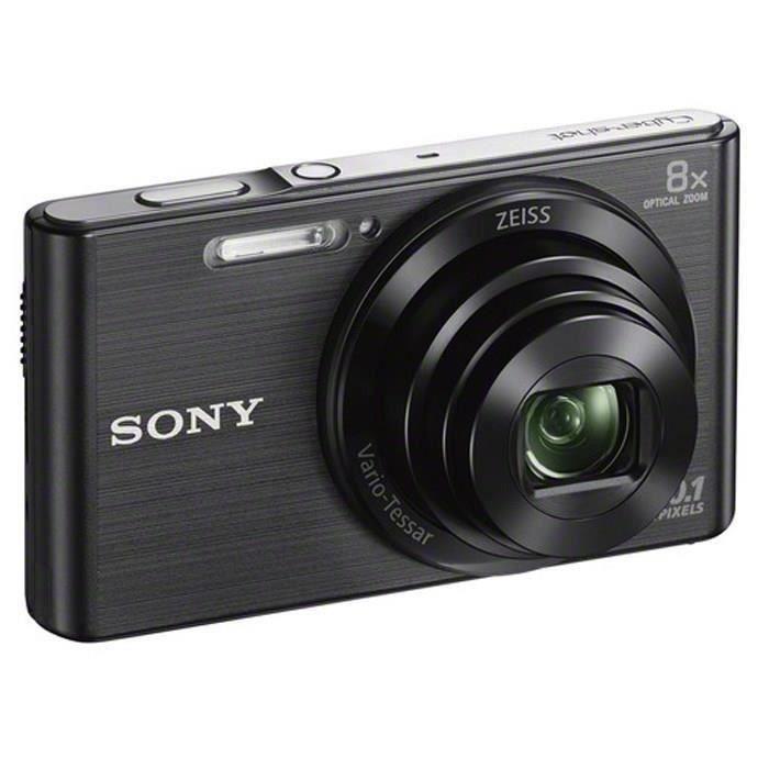 SONY DSCW830B Appareil photo numérique compact 20,1 mégapixels - Noir