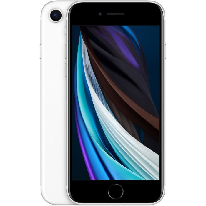 APPLE iPhone SE White 64 GB (with AC adapter)