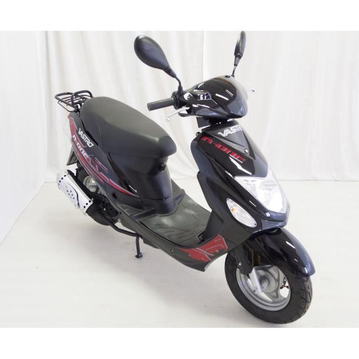 VASTRO 50 R-One Scooter 4 Temps Noir Garantie 6 Mois Pièces