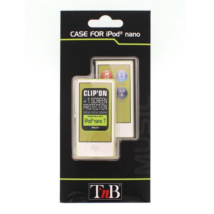 T'nB coque rigide transparente pour iPod Nano 7