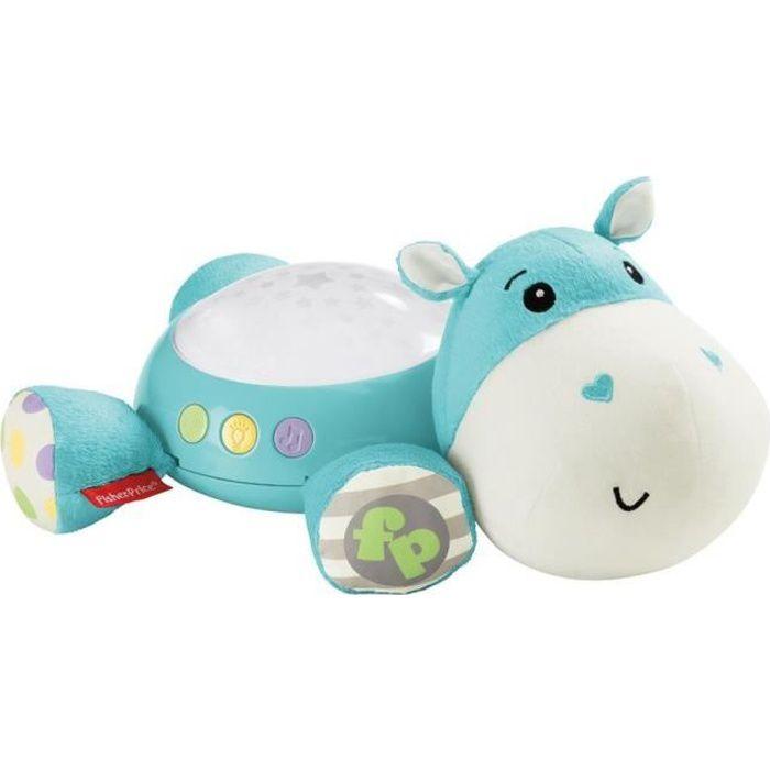 FISHER-PRICE Hippo Douce Nuit Bleu - Dès la naissance