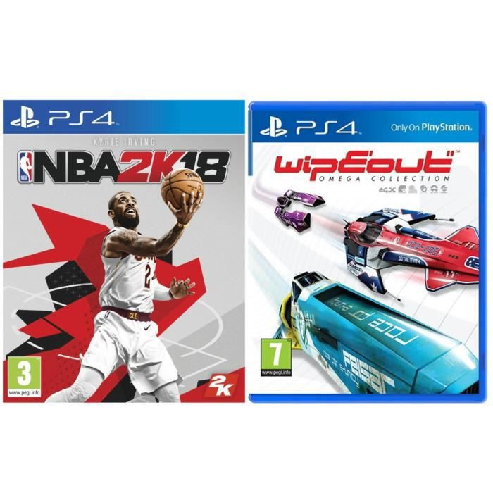 NBA 2K18 + WipEout Omega Collection