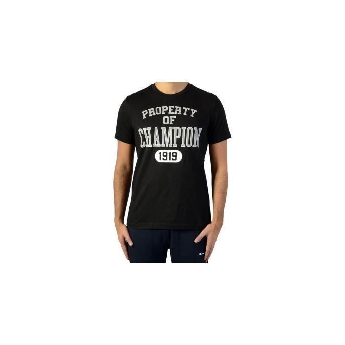 CHAMPION T-shirt 1919 - Homme - Noir