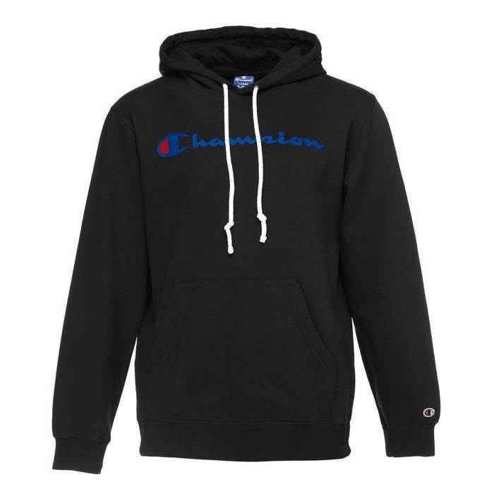 CHAMPION Sweat à capuche - Homme - Noir