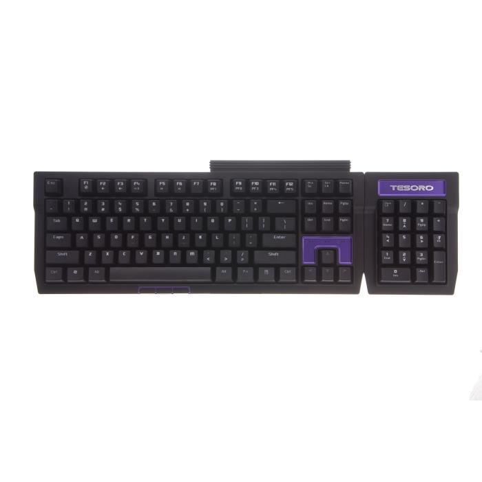 Tesoro Clavier mécanique gaming Tizona Switches Marrons