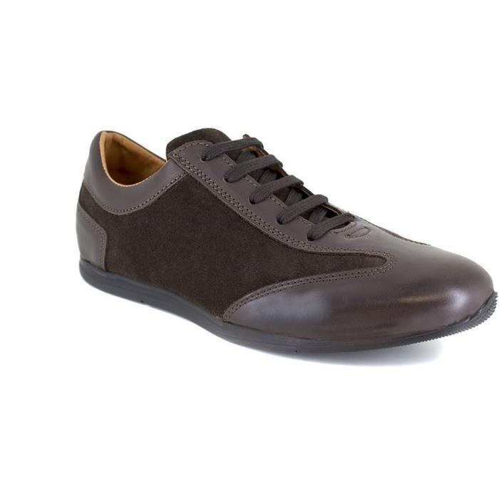 J.BRADFORD JB-MIDLAND Marron Chaussure Homme