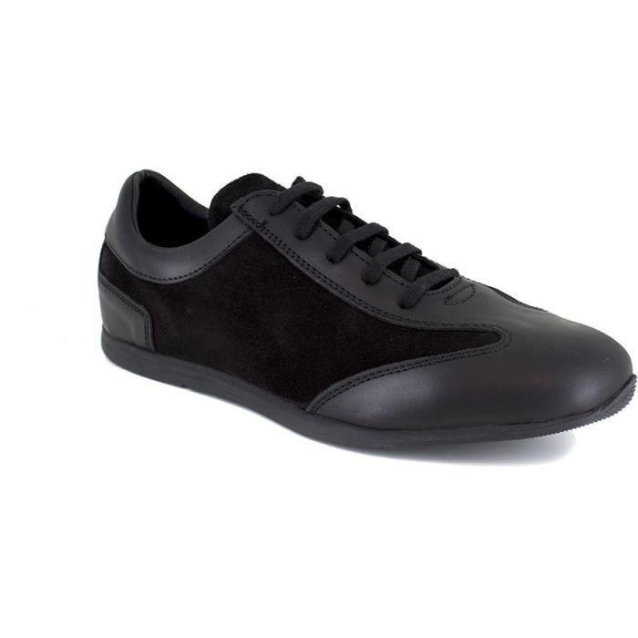 J.BRADFORD JB-MIDLAND Noir Chaussure Homme