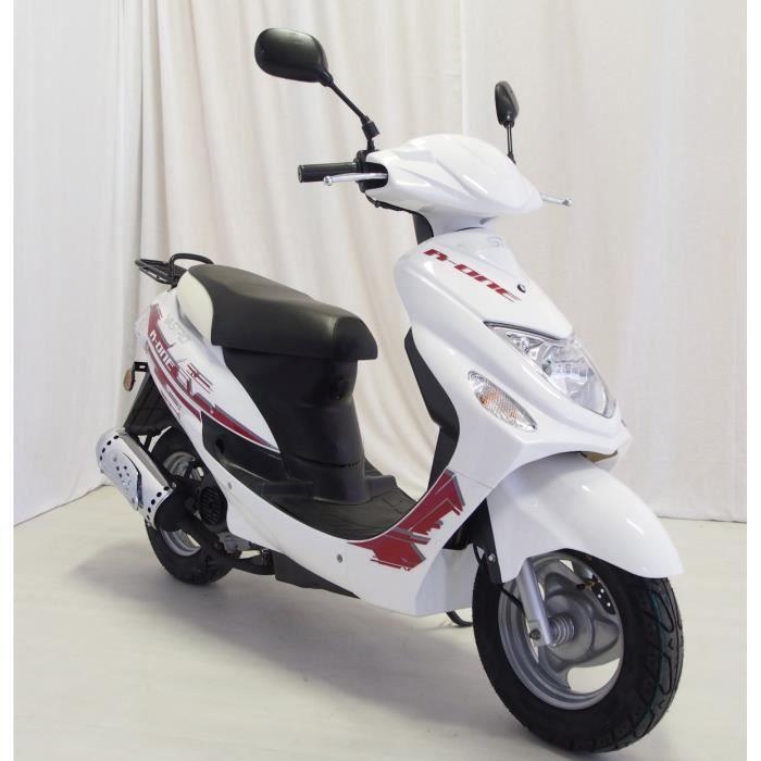VASTRO Scooter 50cc R One 4 Temps Blanc garantie 2 ans pièces et main d'œuvre
