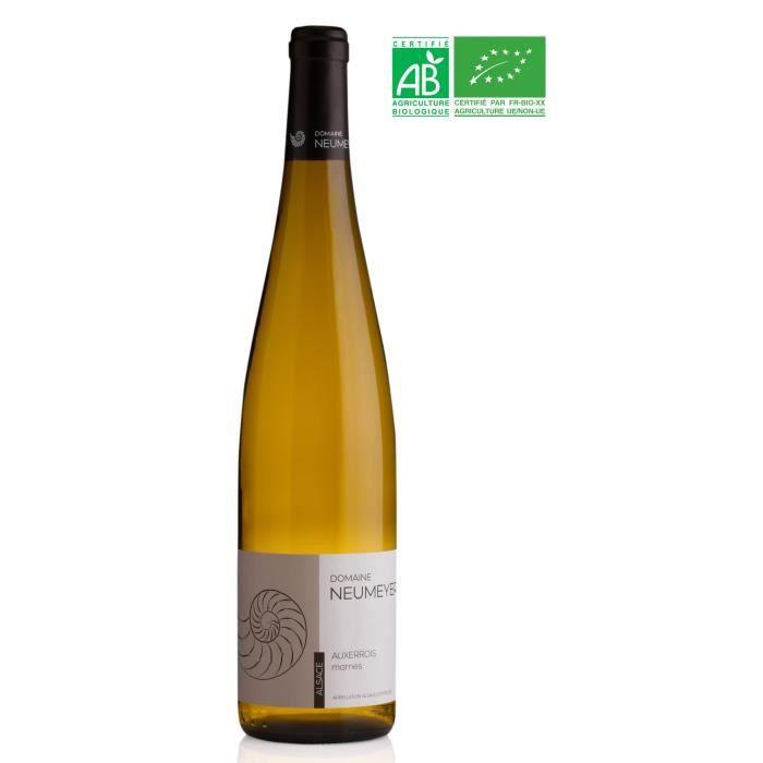 Domaine NEUMEYER 2015 Auxerrois Marnes - Vin blanc d'Alsace - Bio