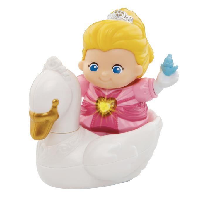 VTECH - Tut Tut Copains - Le Royaume Enchanté - Inès Jolie Princesse et son Cygne