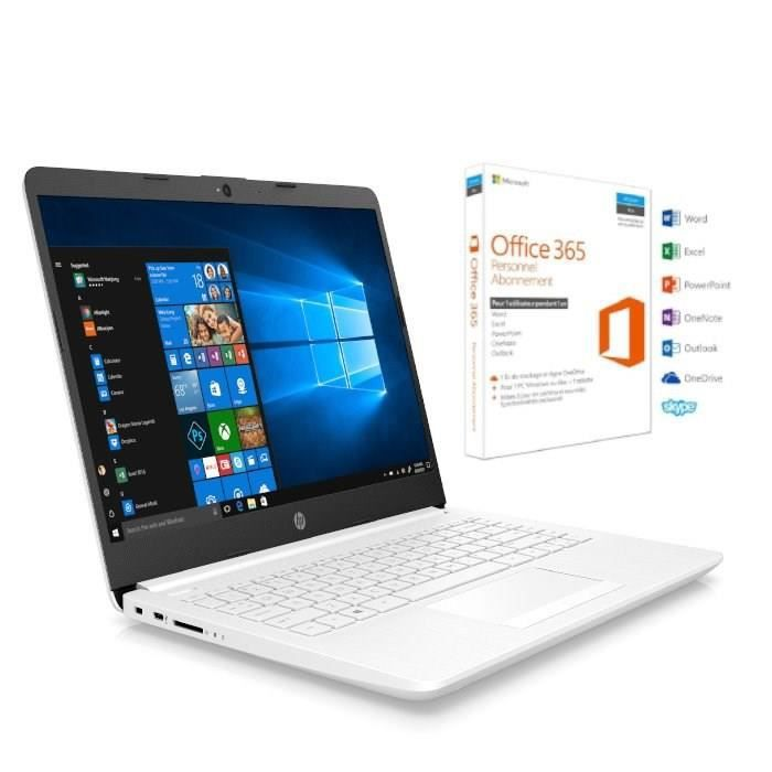 HP PC Portable 14-cf0011nf - 14\