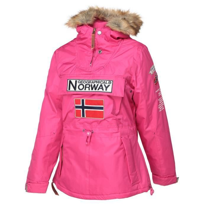 GEOGRAPHICAL NORWAY Parka Boomera New 056 - Femme - Fuschia