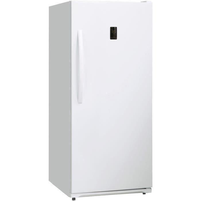 CONTINENTAL EDISON Congélateur armoire - 390L - Froid Total No Frost - classe A+ - L71,1cm x H157cm - Blanc