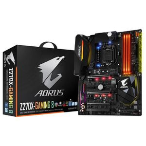 Gigabyte Carte m?re Aorus GA-Z270X-Gaming 8 - Socket LGA 1151 - DDR4 - 2400 Hz - 64 Go