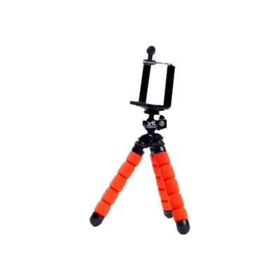 XSORIES Trépied Mini Deluxe + Pholder pour Smartphone Mtrp2 - Orange