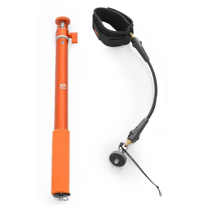 XSORIES Perche Selfie avec CordCam Xs Combo - Orange