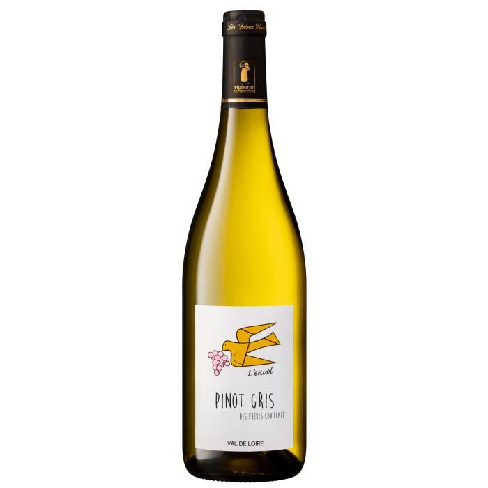 L'envol Pinot Gris 2020 Val de Loire - Vin blanc de la Loire
