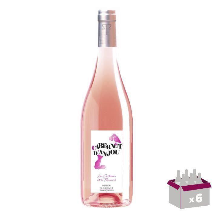 Domaine de Terrebrune 2020 Cabernet et Rosé d'Anjou - Vin rosé de la Loire