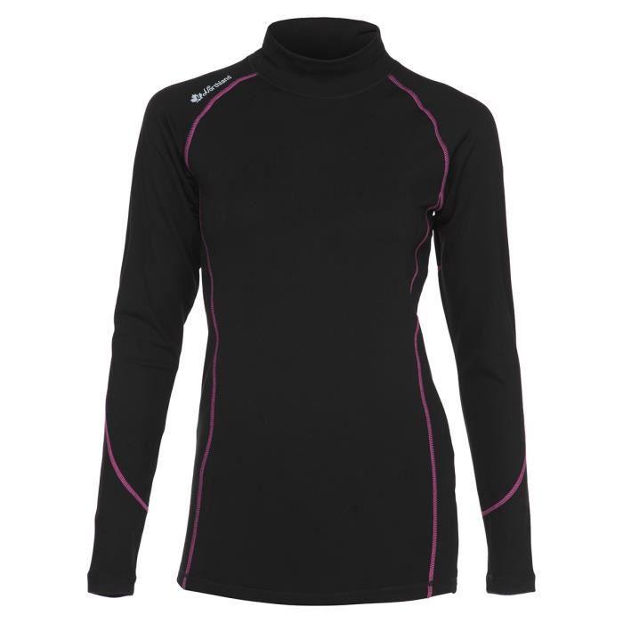 NORTHLAND Sous-vêtement thermique de Ski Femme - Noir et rose