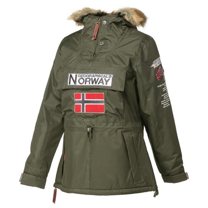 GEOGRAPHICAL NORWAY Parka Boomera New 056 - Femme - Kaki