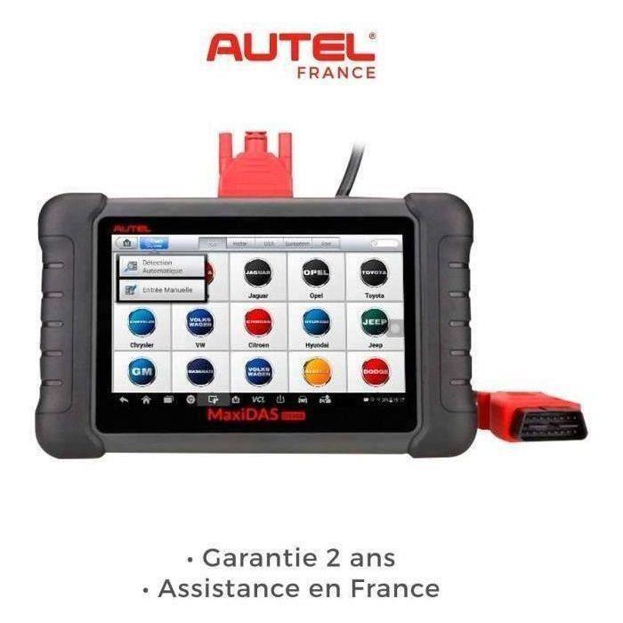 AUTEL DS808 / MP808 Valise diagnostic-Version Europe-Assistance en France-