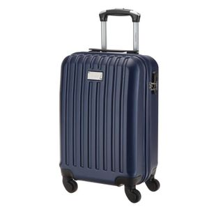 TORRENTE Valise Cabine Low Cost Rigide ABS 4 Roues 45 cm HEBE Marine