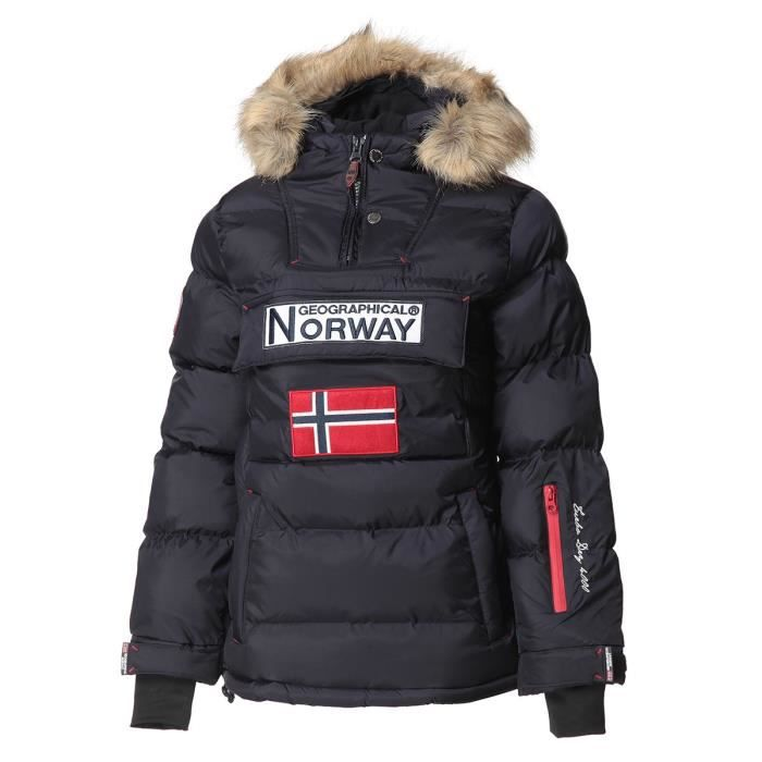 GEOGRAPHICAL NORWAY Doudoune Bianca 068 - Femme - Marine