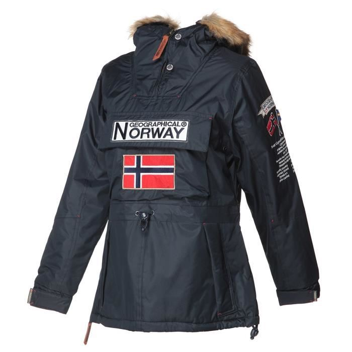 GEOGRAPHICAL NORWAY Parka Boomera New 056 - Femme - Marine