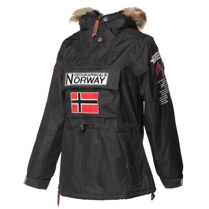 GEOGRAPHICAL NORWAY Parka Boomera New 056 - Femme - Noir
