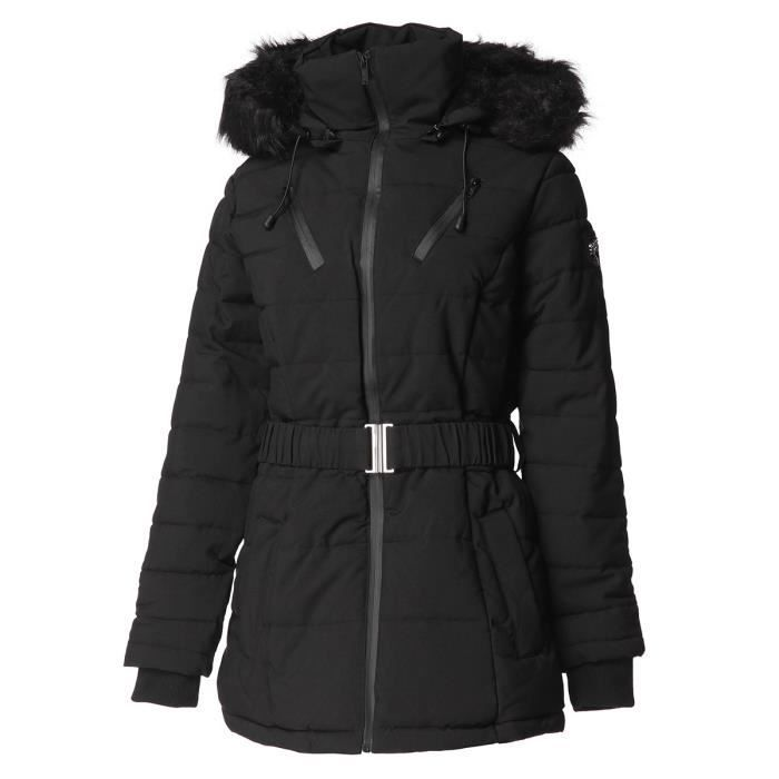 GEOGRAPHICAL NORWAY Parka Chic 079 - Femme - Noir