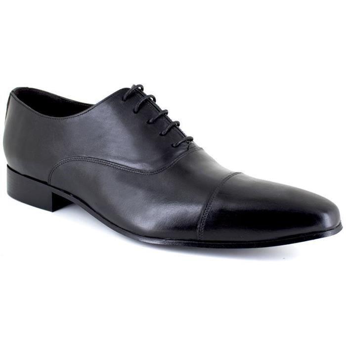 J.BRADFORD JB-ELGIN Noir Chaussure Homme