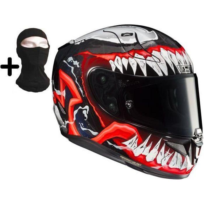 HJC Casque moto intégral- Rpha11 Venom II + cagoule