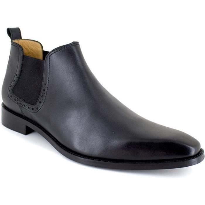 J.BRADFORD Chaussures Bottines JBMANORNO Noir Homme