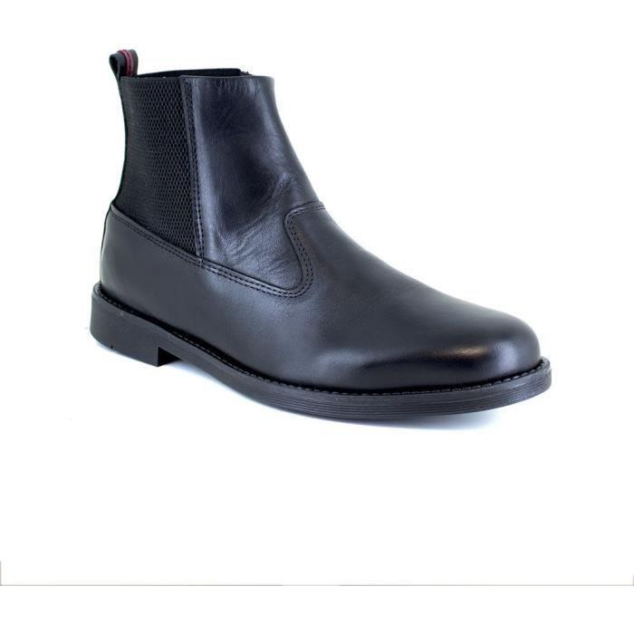 J.BRADFORD Chaussures Bottines JBTORONO Noir Homme