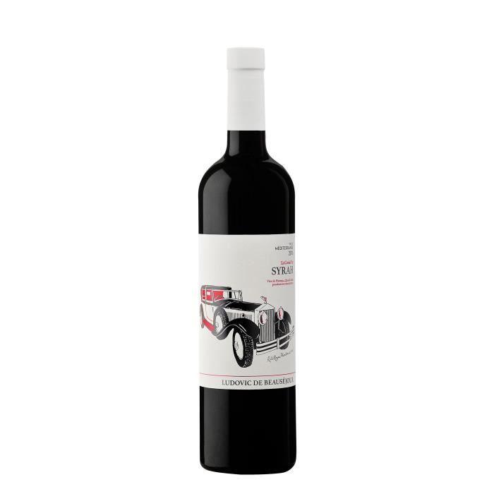 Vins et Pistons Syrah 2017 Méditerrannée - Vin rouge de Provence