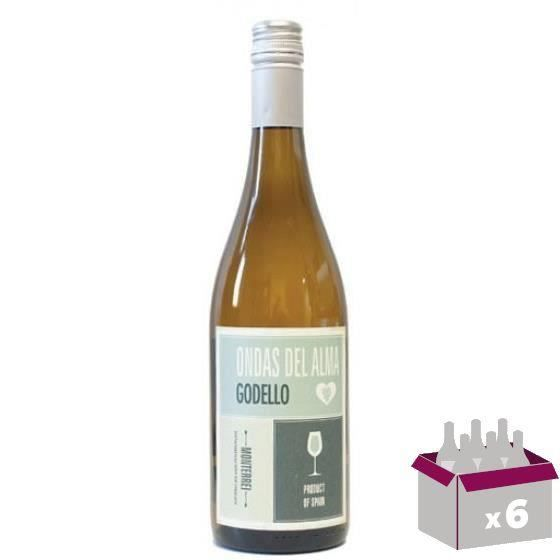 ONDAS DEL ALMA Monterrei Vin d'Espagne - Rouge - 75 cl - DO x 6