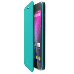 Wiko Folio Back cover Lenny Turquoise