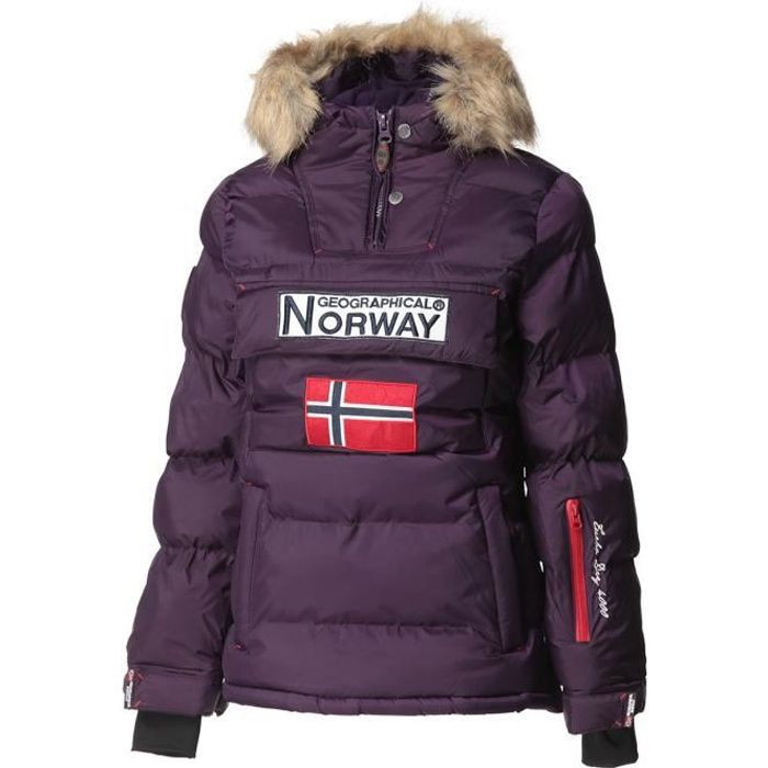 GEOGRAPHICAL NORWAY Doudoune Bianca 068 - Femme - Violet