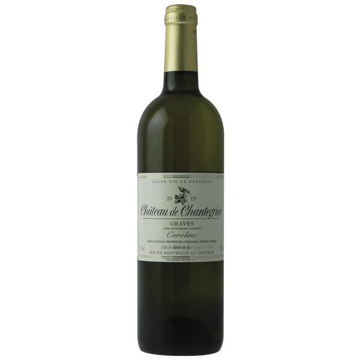 Château de Chantegrive Caroline 2009 Graves - Vin blanc de Bordeaux