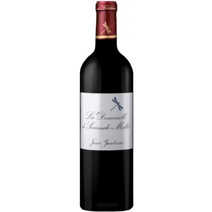 La Demoiselle de Sociando-Mallet 2010 Haut-Médoc - Vin rouge de Bordeaux