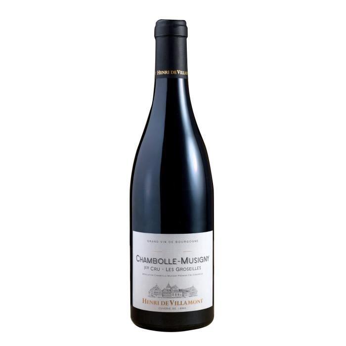 Henri de Villamont 2013 Chambolle Musigny 1er Cru -Les Groseilles- - Vin Rouge de Bourgogne